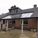 Veranda met glazen dak